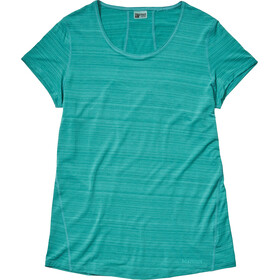 Marmot Aura T-shirt Femme, deep jungle